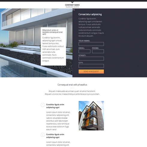Real Estate Responsive Template
