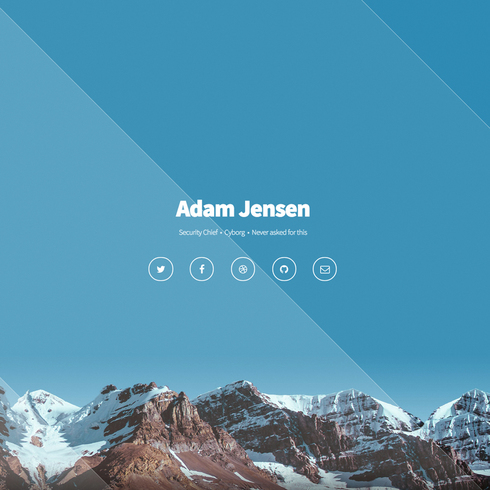 Free Aerial Responsive Website Template