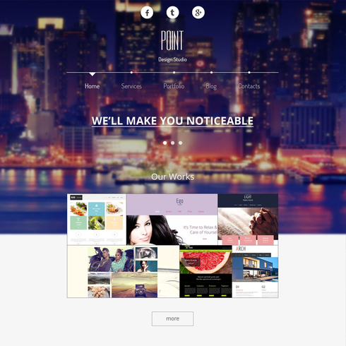 Ultra-Modern Responsive Design Agency Theme