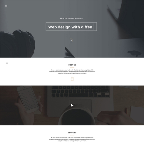 Arcadia Portfolio Responsive Bootstrap Template