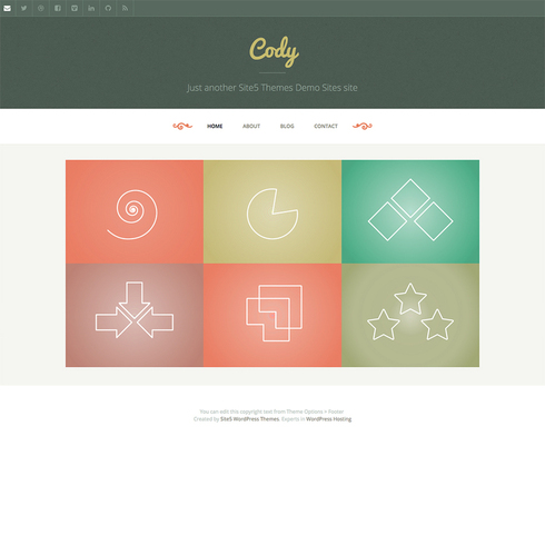 Cody - Free Responsive WordPress Theme