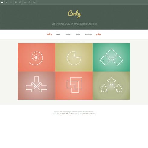 Cody - Free Responsive WordPress Theme