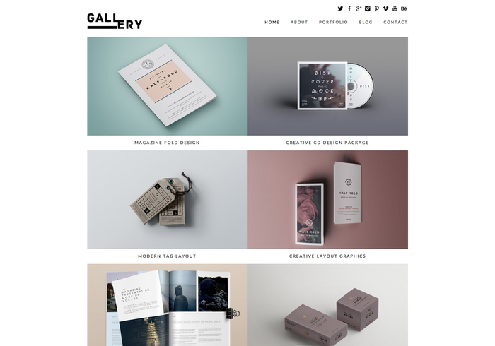 Gallery portfolio blog free responsive wordpress theme maxwellsz