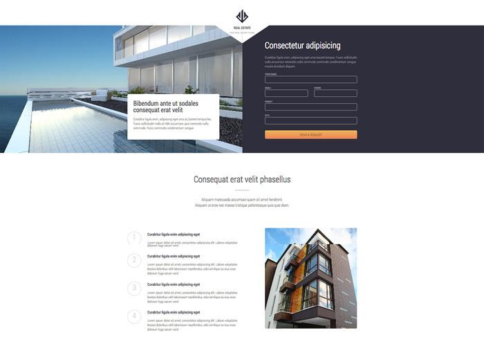 Themezy Real Estate Responsive Wordpress Theme Free Website