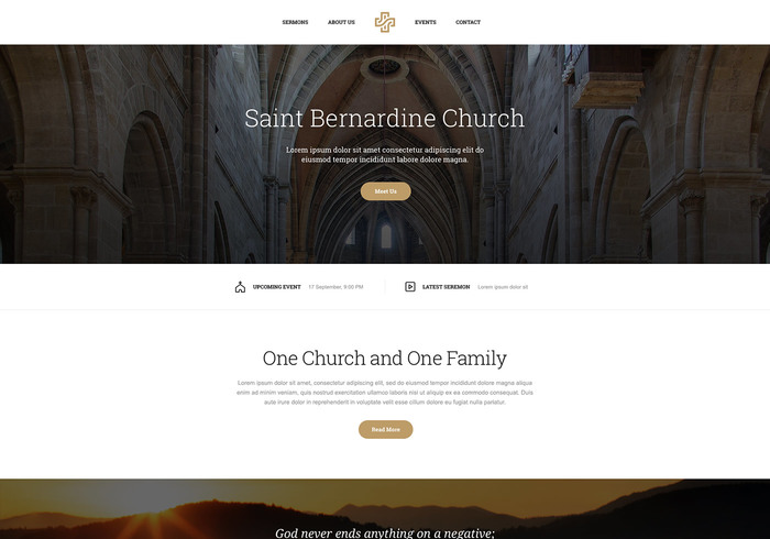 Themezy Free Wordpress Church Theme