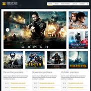 Movie Reviews Responsive Template
