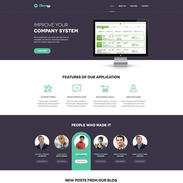 Minimal Cleverapp Free Responsive Template