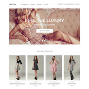 Indigo Online Store Free Responsive Template