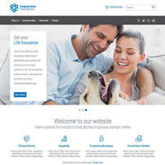 Insurance Responsive Template