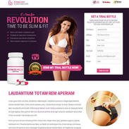 Diet Pills Lander Responsive Template