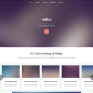 Blurry Helios Free Responsive Template