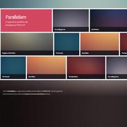 Parallelism Portfolio Free Responsive Template