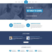 Free Responsive Template For Schools