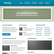 Minimaxing Responsive Website Template