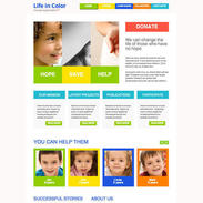 Clean-colorful-charity-free-responsive-template