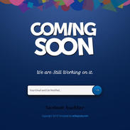 Coming Soon - Under Construction Responsive Website Template