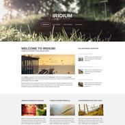 Iridium-free-responsive-blog-template