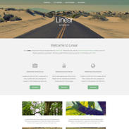 Minimal Linear Free Responsive Template