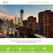 Eden Real Estate Free Responsive Website Template