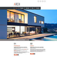 Architecture-responsive-website-template