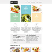 Gourmet Place Responsive Website Template