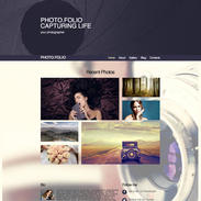 Photo-folio-responsive-website-template