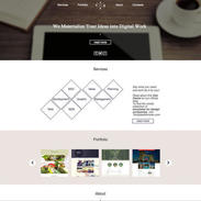 Trendy Single Page Template