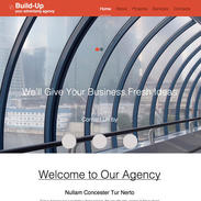 Advertising Agency Responsive Website Template