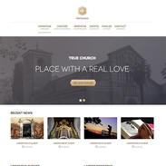 True Church Free Responsive Website Template