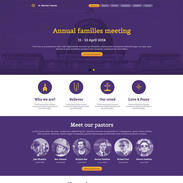 Church Free Responsive Website Template