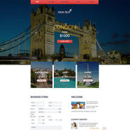 Travel Agency Free Responsive Website Template