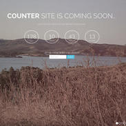 Counter - Free Responsive Coming Soon Template