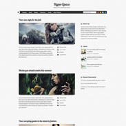 HyperSpace Free Responsive WordPress Theme
