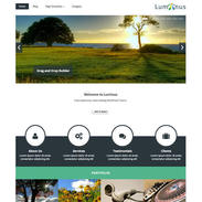 Luminus Free Responsive Wordpress Theme