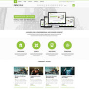 Circle Corporate - Responsive Wordpress Theme