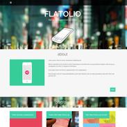 Flatolio Portfolio - Responsive Wordpress Theme