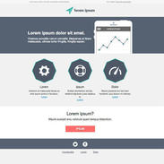 Flat Service - Responsive Newsletter Template