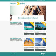 World Travel Free Responsive Email Template