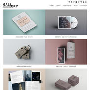 Gallery Portfolio Blog Free Responsive Wordpress Theme
