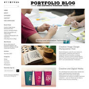 Portfolio Blog Free Responsive Wordpress Theme